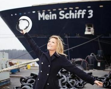 Helene Fischer wird Taufpatin der Mein Schiff 3: Noch 97 Tage bis zur Taufe des ersten Neubaus von TUI Cruises