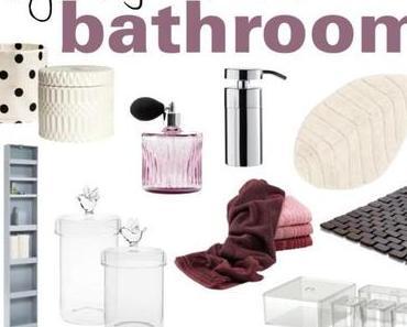 Wohnideen – Alles fürs Badezimmer