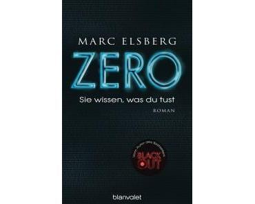 Vorschau: Zero – Sie wissen was du tust von Marc Elsberg
