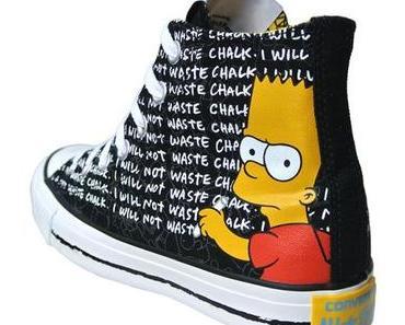 The #Simpsons x #Converse Chucks Nr. 141390 HI All Stars Bart Simpson