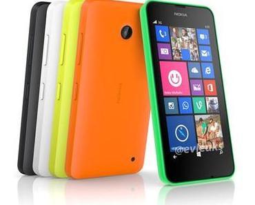 Nokia Lumia 630 und 635: Das erste Smartphone mit Windows Phone 8.1?