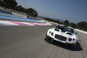 Abschluss der Testtage der Blancpain GT Series