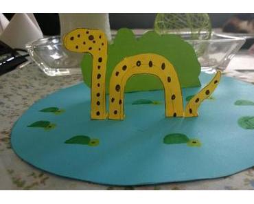 3D Seeungeheuer – Basteln mit Kindern