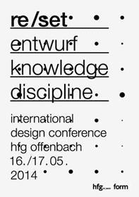 re/set international design conference 16/17.5.