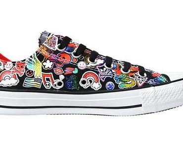 #Converse Chuck Taylor All Star Converse Chucks 542494 My little Pony Neon Print