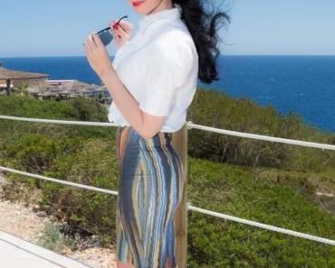 Fashionblog – Modestyling mit Minirock und Bluse