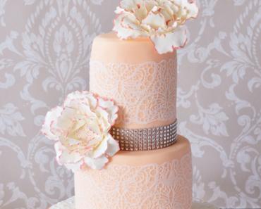 Pfingstrosen Wedding cake
