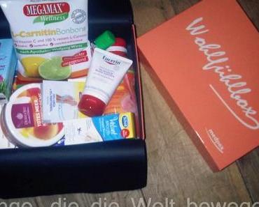 medpex Wohlfühlbox März 2014