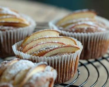 Petits gâteaux aux pommes sans oeuf -   Apfel-Küchlein ohne Ei