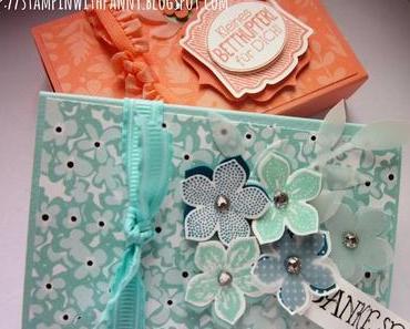 Matchbox mit dem Envelope Punch Board und Süße Sorbets