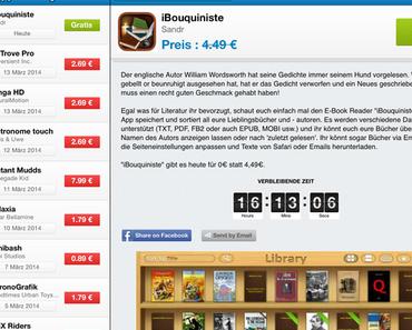 Vorgestellt: Die App des Tages - Ob Spiel, Bildbearbeitung oder Dienstprogramm. Jeden Tag eine sonst kostenpflichtige App für iPhone und iPad gratis downloaden.
