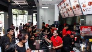 Burger King kommt gut an im Königreich