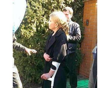 Julia Timoschenko - die Wahrheit über ihr Rückenleiden