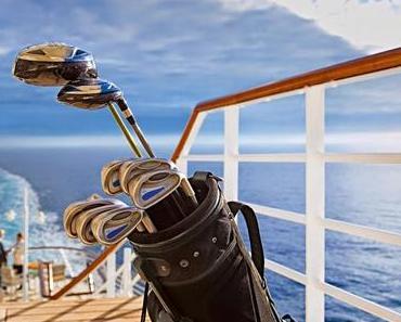 Golfreisen mit der EUROPA 2: An Bord die Spieltechnik verbessern und die schönsten Greens an Land erleben