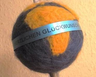 Die Welt ist eine Filzkugel – oder – Das Ei des Kolumbus: Die Erde ist rund und gefilzt
