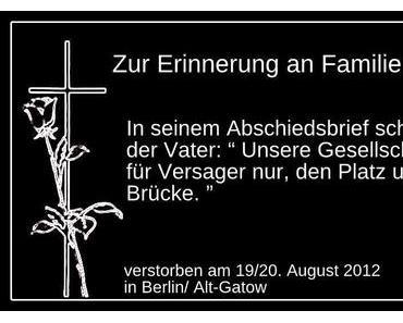 Erinnerung an Familie B.