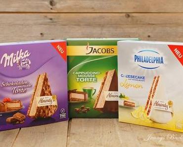 Produkttest - Drei neue Torten von Almondy