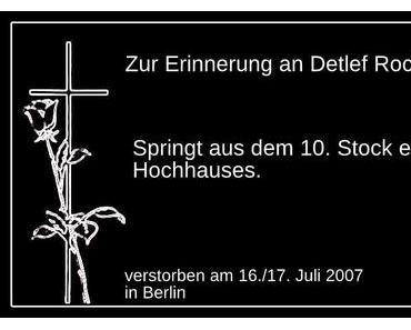 Erinnerung an Detlef Rochner