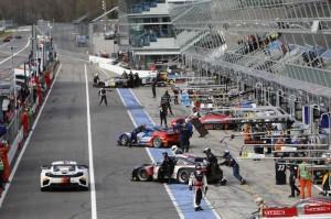 Startflagge für die Blancpain Endurance Series in Monza
