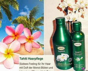 Lavolta Tahiti Haarpflege Seidenshampoo / Spülung