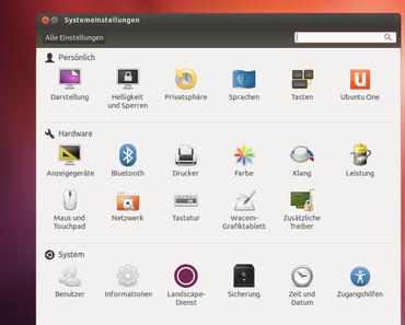 Ubuntu – von Anfang an – Teil 5 – Systemeinstellung