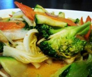 Red Curry Gemüse