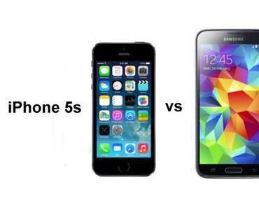 Galaxy S5 vs iPhone 5S: Daten im Vergleich