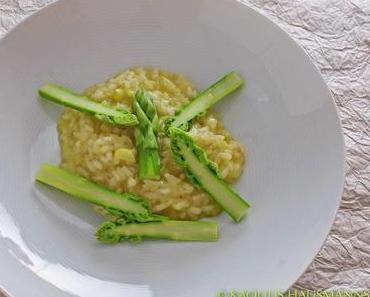 vegetarisches für den Karfreitag: Spargelrisotto