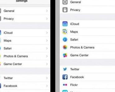 Das 4,7 Zoll Display im iPhone 6 und das Apps