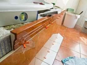DIY: Badewanne einbauen