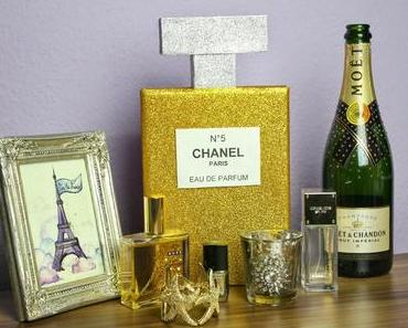 {DIY} Chanel Parfum Home Deko /Glossybox Recycling