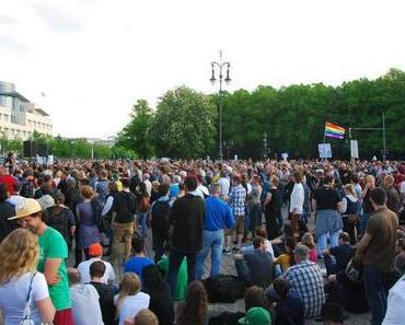Montagsdemos – Berliner Mahnwache am 28.04.2014: Die Highlights