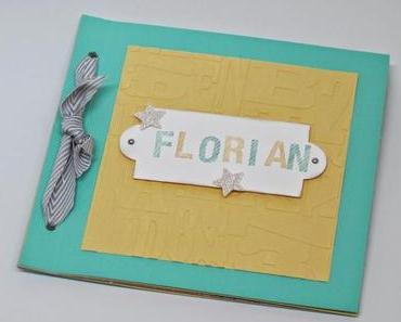 Babybuch für Florian