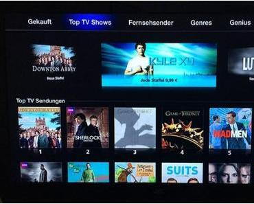 iTunes in the Cloud: Filme und TV Serien auf Apple TV