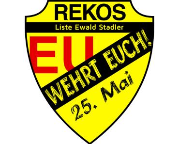 EU Wahl: Ewald Stadler und die REKOS