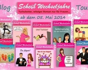 """[Blogtour] Tag 1 der """"Scheiß Wechseljahre"""" Blogtour"""