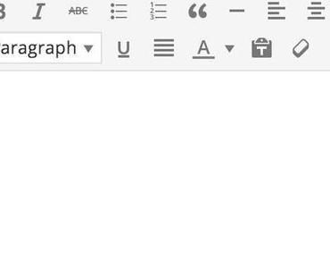 Neu in WordPress 3.9: der verbesserte Editor