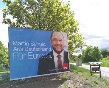 Wahlplakate, die keine sind mit Kandidaten, die nicht zur Wahl stehen