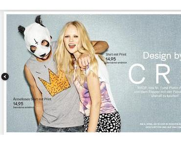"H&M ""DESIGN BY CRO"""