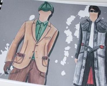 Traumberuf Modedesigner - Kollektionsmappen