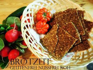Rohkost Brot – für Süßes & Würziges