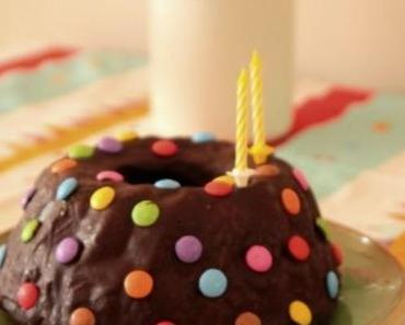 saftiger Rührkuchen zum Geburtstag