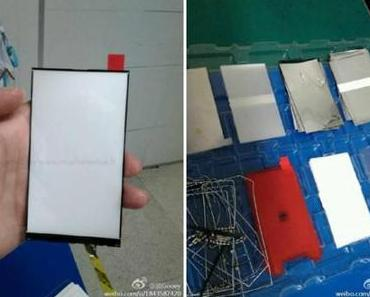 iPhone 6 Display Leak: Sehen wir hier das LED Backlight?