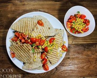 Quesadillas mit Schinken und weissen Bohnen - viva Mexiko