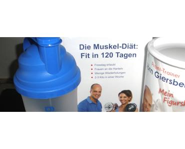 J. Giersberg 120 Tage Muskel-Diät-SET – Eiweiß+Buch+Shaker im Test