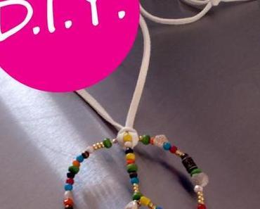 DIY: (Nicht nur) für Hippie-Girls – der Perlen-Peace-Anhänger