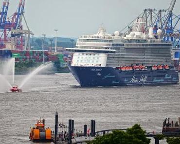"""Tui-Cruises Taufe """"Mein Schiff 3"""" Termine und Ablaufplan im Hamburg"""