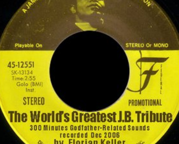 The World's Greatest James Brown Tribute – a 4 and a half hours marathon live mix