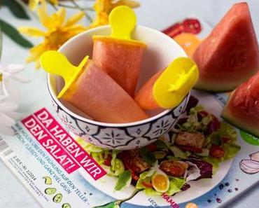 Rezept: fruchtiges Melonen Eis