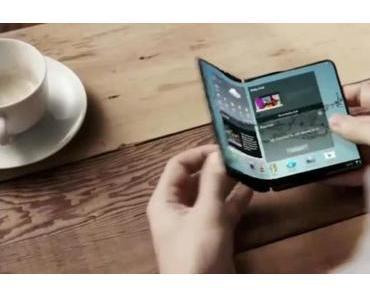 Samsung verkündet Release eines klappbaren Tablets für 2015 (Umfrage)